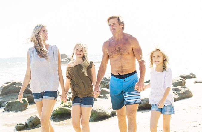 Laird Hamilton and Gabby Reece for the Winter cover of ...  Laird Hamilton 2014