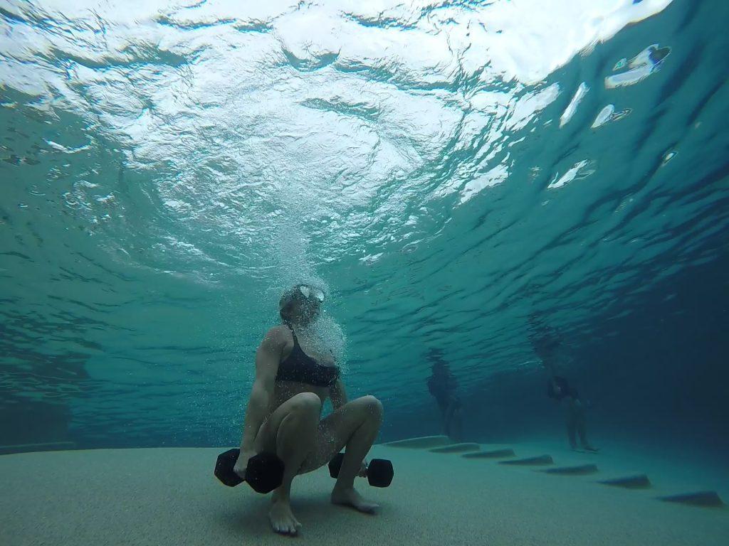 xpt water - jump squats