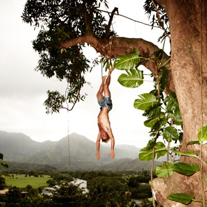 Men's Journal – Laird Hamilton Says: Turn Your Workout Upside Down