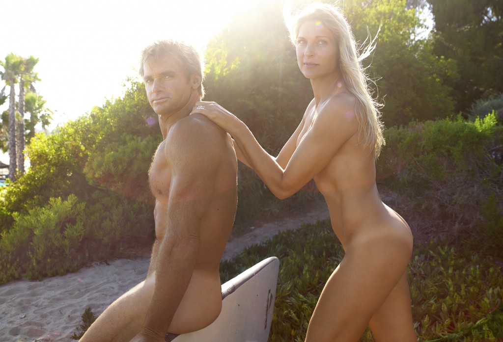 Gabrielle Reece and Laird Hamilton CREDIT: Peggy Sirota
